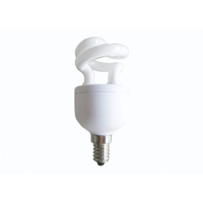 Bec economic, putere lampa 5W, echivalent pentru incandescenta 30W, EFD5E27HDE14E, Panasonic