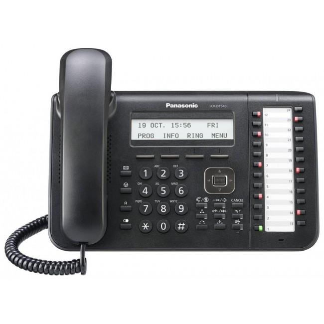 Telefon digital proprietar Panasonic KX-DT543X-B