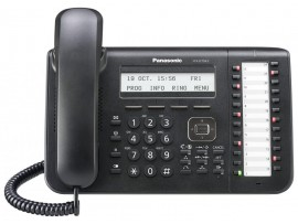 Telefon proprietar Panasonic KX-NT543X-B, IP ,negru