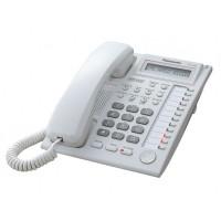 Telefon proprietar Panasonic KX T7730CE, analogic, alb
