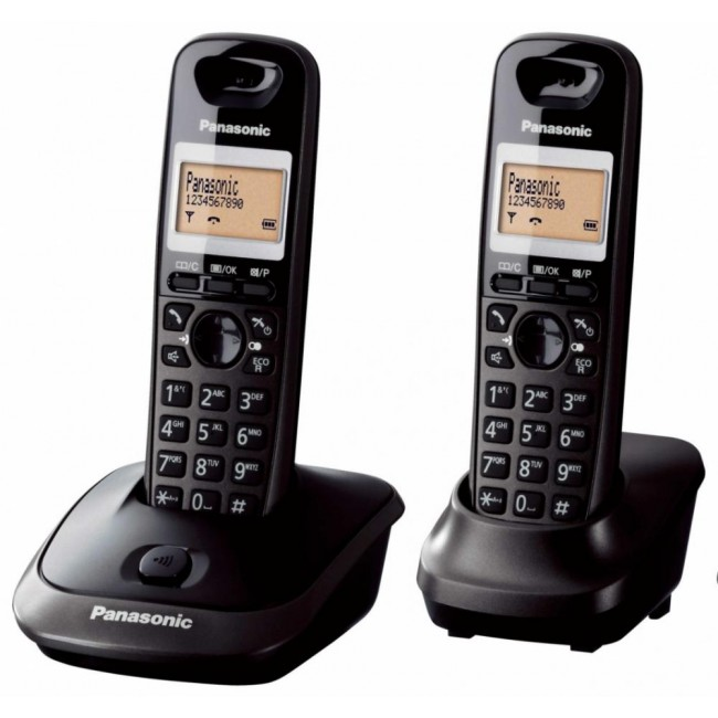 Telefon DECT twin, KX-TG2512FXT, Panasonic, TESTARE in showroom