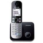 Telefon DECT Panasonic KX-TG6811FXB, negru