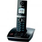 Telefon DECT Panasonic KX-TG8061FXB, cu robot