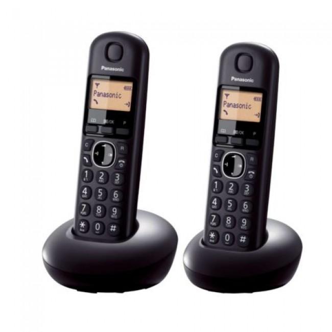 Telefon DECT, negru, KX-TGB212FXB, Panasonic, TESTARE in showroom