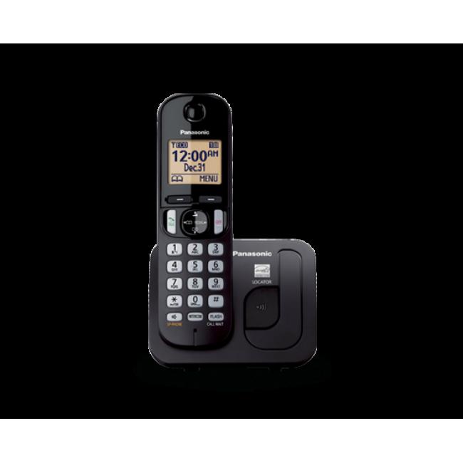 Telefon DECT, negru, KX-TGC210FXB, Panasonic