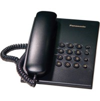 Telefon analogic Panasonic KX-TS500FXB, negru
