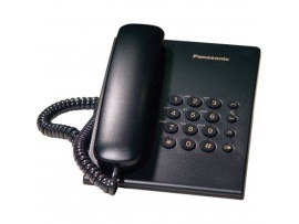 Telefon analogic Panasonic KX-TS500FXB (HGB), negru, TESTARE in showroom