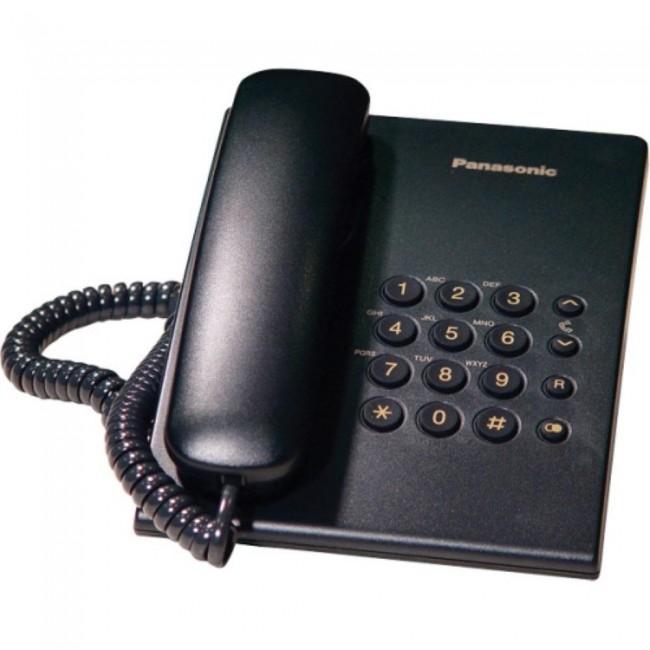 Telefon analogic Panasonic KX-TS500FXB  negru,