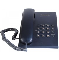 Telefon analogic Panasonic KX-TS500FXC,indigo
