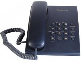 Telefon analogic Panasonic KX-TS500FXC,indigo,