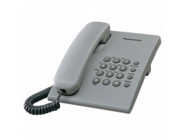 Telefon analogic Panasonic KX-TS500FXH, gri