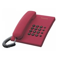 Telefon analogic Panasonic KX-TS500FXR,rosu, TESTARE in showroom