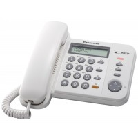 Telefon analogic Panasonic KX-TS580FXW, TESTARE in showroom