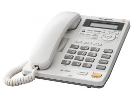 Telefon analogic Panasonic KX-TS620FXW, TESTARE in showroom
