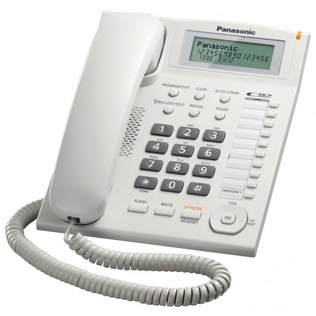 Telefon analogic Panasonic KX-TS880FXW, TESTARE in showroom