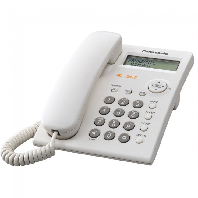 Telefon analogic Panasonic KX-TSC11FXW, TESTARE in showroom
