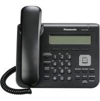 Telefon SIP Panasonic KX-UT123NE-B, Dual Port, negru