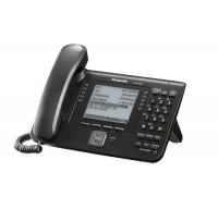 Telefon SIP Panasonic KX-UT248NE-B, negru