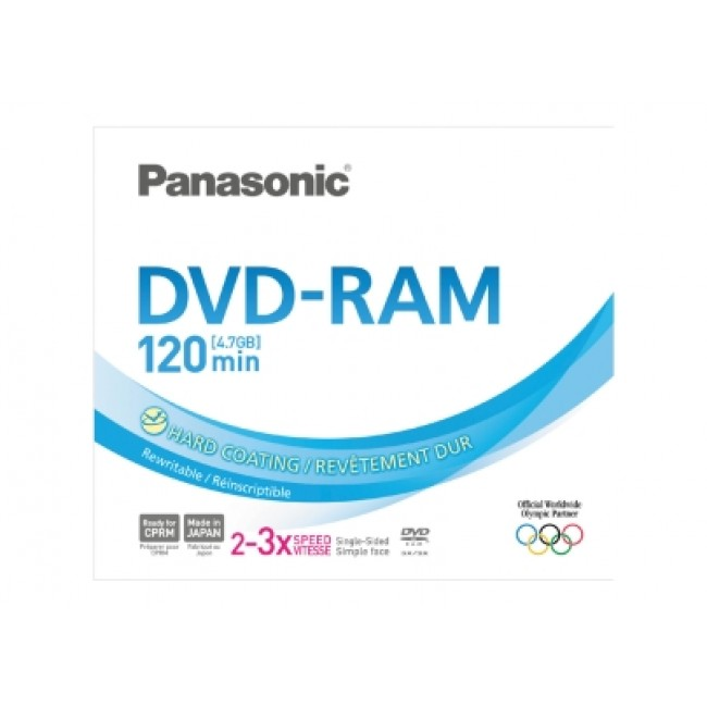 Disc DVD-RAM Panasonic LM-AF120LE