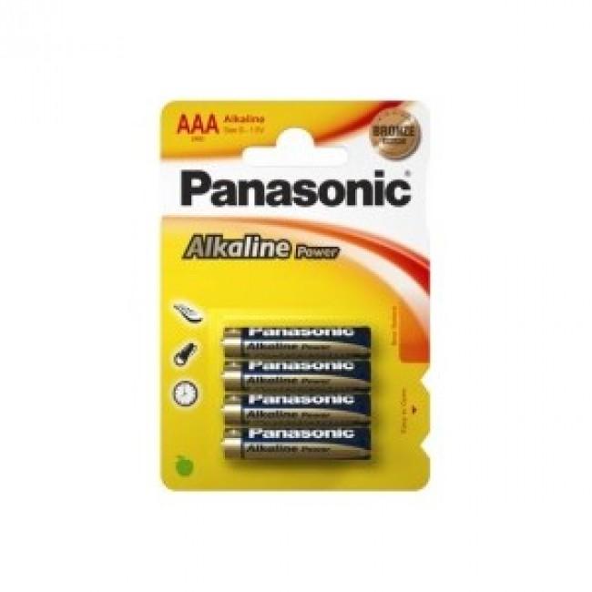 Baterii Panasonic LR03APB/4BP, 1.5V, 4 buc.