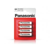 Baterii Panasonic R6RZ/4BP, 1,5V Zinc Carbon