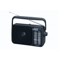 Radio portabil  RF-2400EG-K,FM/AM,Tuner analog, TESTARE in Showroom Panasonic