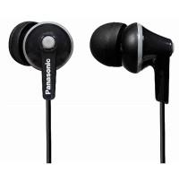 """Casti tip """"In Ear  RP-HJE125E-K Panasonic, negru"""