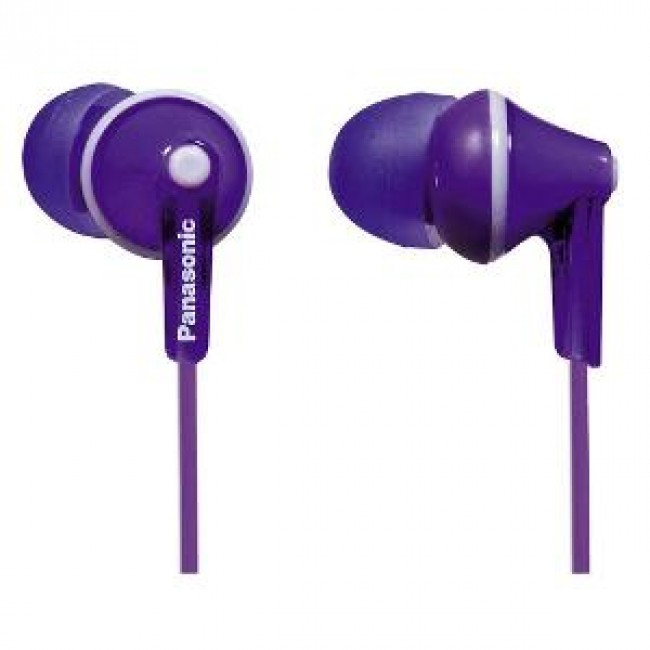 """Castitip """"In Ear RP-HJE125E-V Panasonic ,violet"""