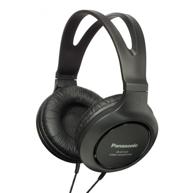 Casti tip monitor cu cablu de 2m - RP-HT161E-K  Panasonic, negru