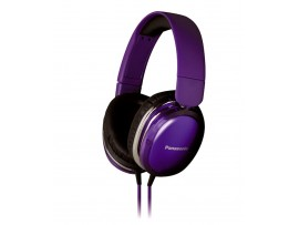 "Casti audio tip ""monitor""create special pentru iPhone,Android RP-HX350E-V Panasonic,violet"