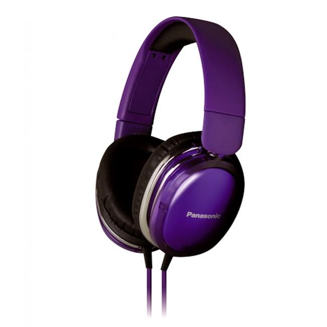 "Casti audio tip ""monitor""create special pentru iPhone,Android RP-HX350E-V Panasonic,violet"