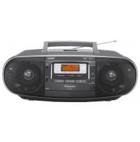 Radiocasetofon portabil cu CD, Panasonic, model RX-D55EG-K