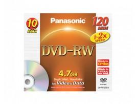 Disc DVD-RW Panasonic LM-RW120E10 4,7 GB 1-2x