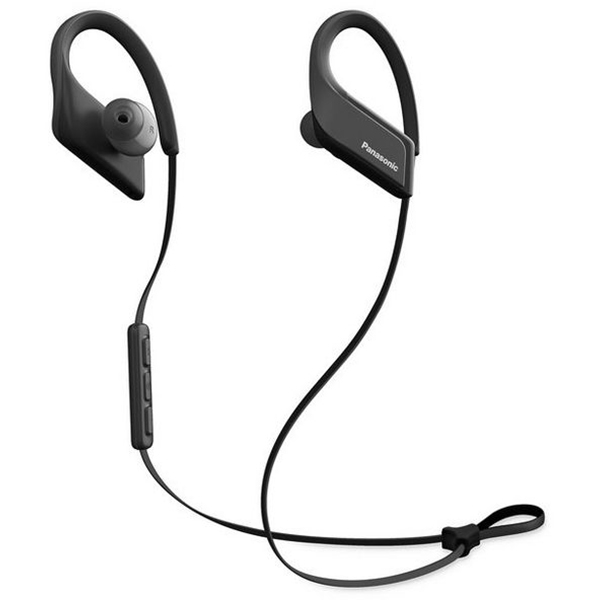 Casti in-ear cu microfon PANASONIC RP-BTS35E-K, wireless, negru