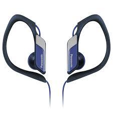 Casti tip Clip, difuzor de 14.3mm RP-HS34E-A Panasonic,albastru