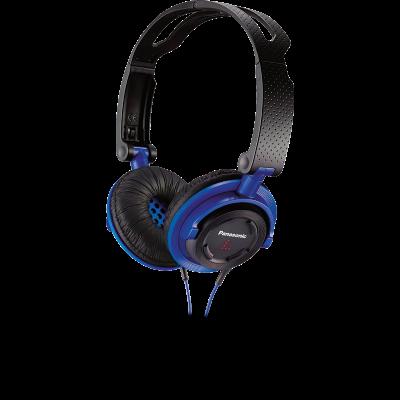 Casti RP-DJS150E-A, Panasonic, albastru