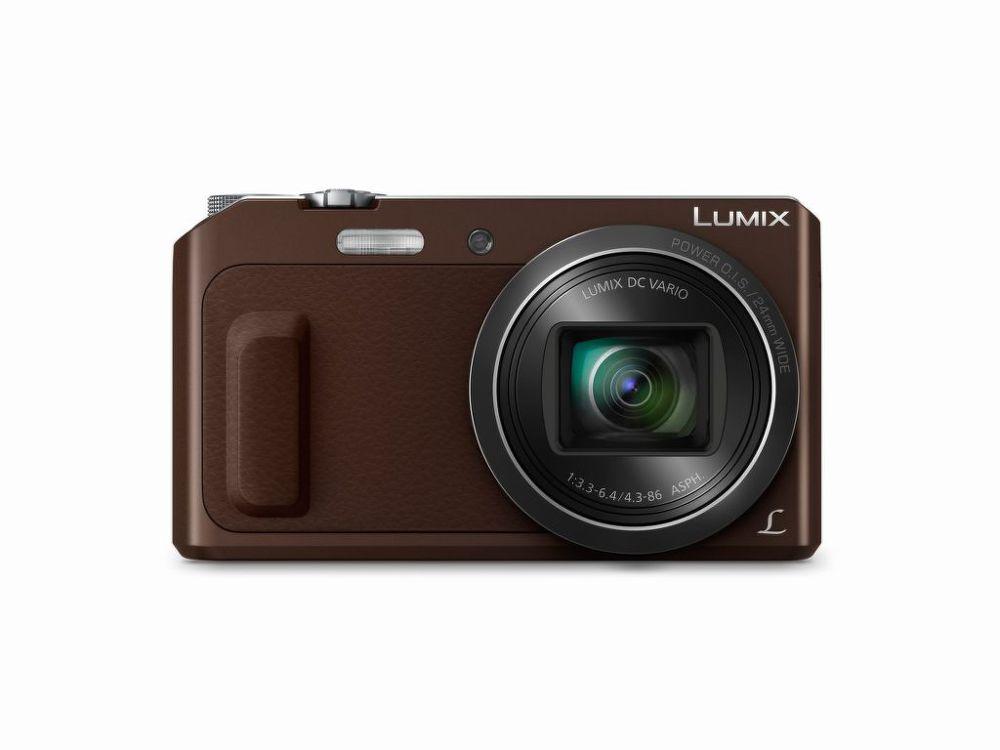 camera foto camera de buzunar dmc-tz57ep-t,senzor mos de 16 megapixeli,power o.i.s.stabilizator optic de imagine, panasonic