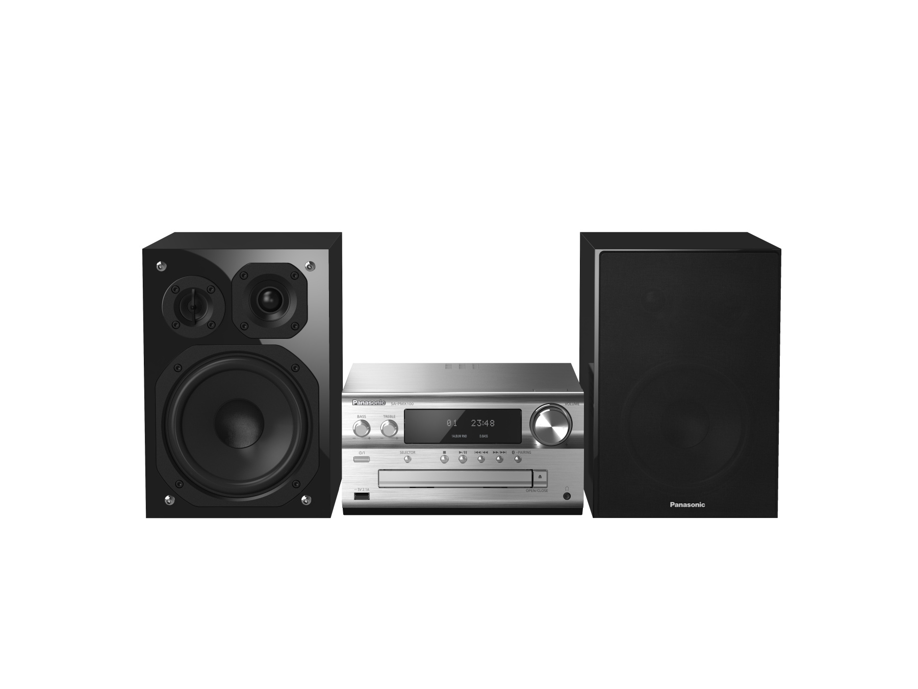 Minisistem audio SC-PMX150EGS, 120W, Bluetooth, USB , TESTARE in Showroom Panasonic