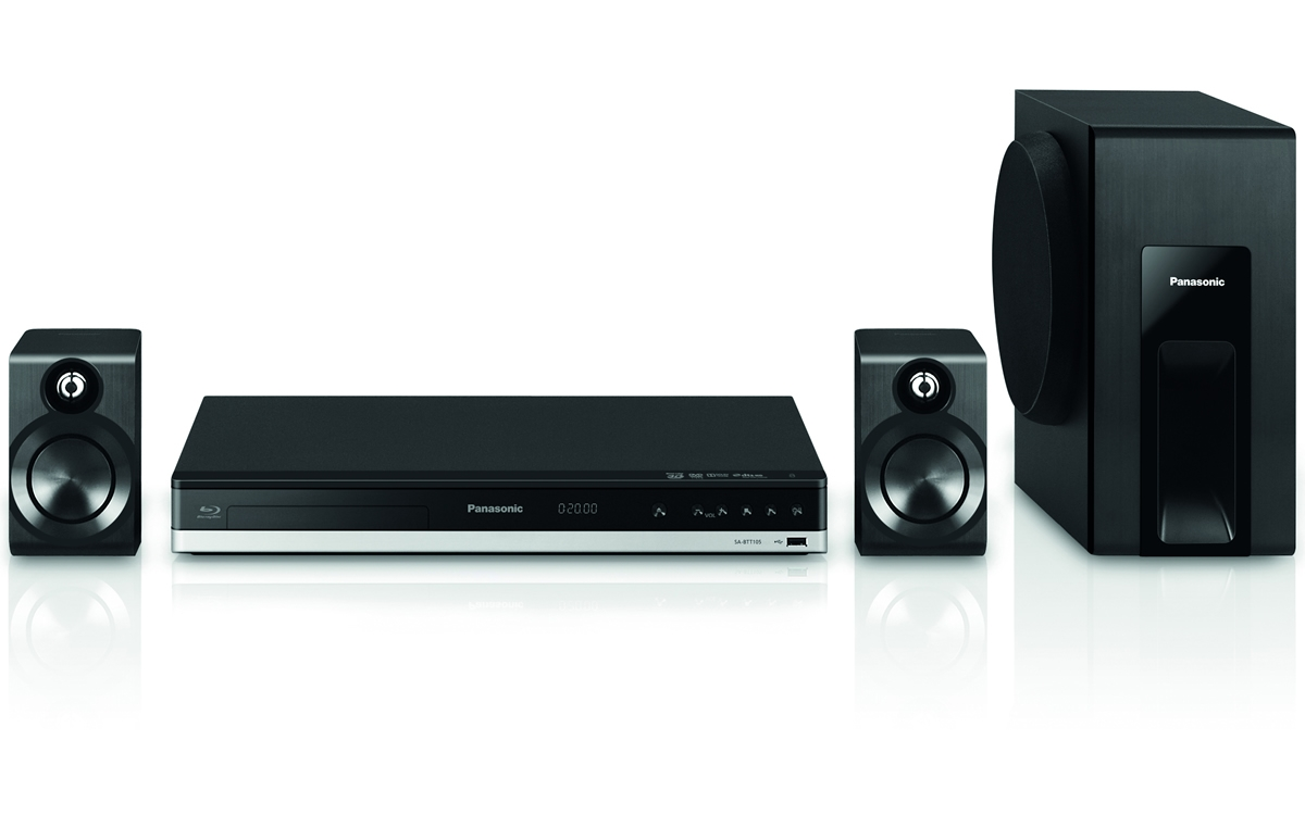 Home Theater Blu-ray SC-BTT105EG9 Full HD 3D 4K up-scaling,Lincs D Amp,Miracast, TESTARE in Showroom Panasonic