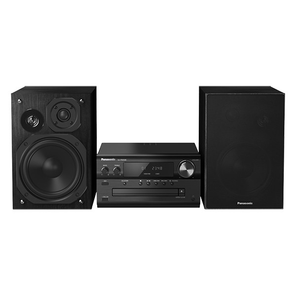 Microsistem audio High-Res Panasonic SC-PMX90EG-K, 120W, BT, USB-DAC, Lincs D-Amp, Difuzoare 3 cai, Optical-in, Negru USB, TESTARE in Showroom Panasonic