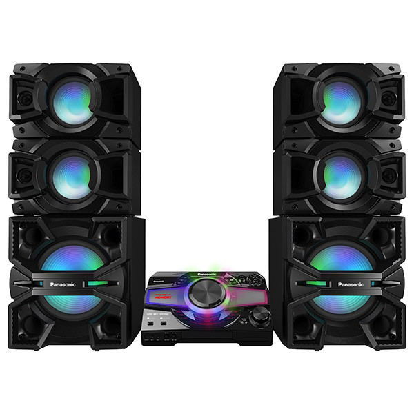 Sistem audio High Power SC-MAX7000E-K, 3000W RMS, Bluetooth, Wi-Fi, NFC TESTARE in Showroom Panasonic