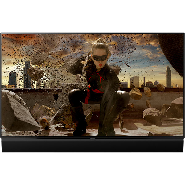 Televizor OLED Smart Ultra HD 4K Pro, 140 cm, PANASONIC TX-55FZ950, TESTARE in Showroom negru