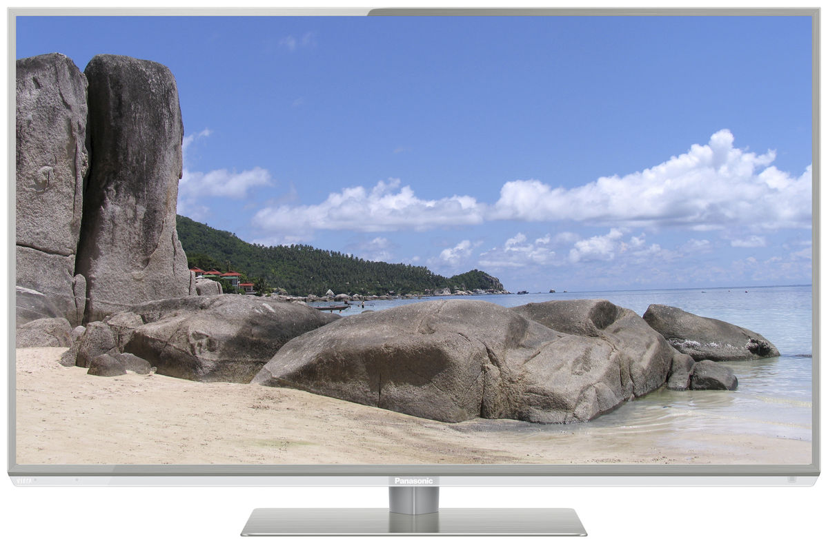 televizor led smart 3d panasonic, 106cm, tx-l42dt50e full hd resigilat