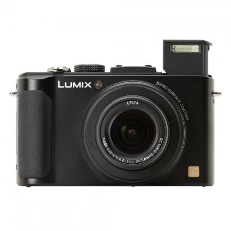 camera foto, panasonic dmc-lx7ep-k, digitala