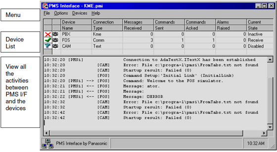 interfata panasonic kx-a291x, 128 utilizatori