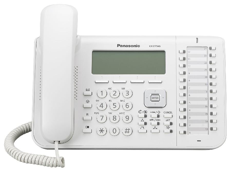 telefon digital proprietar panasonic kx-dt546x