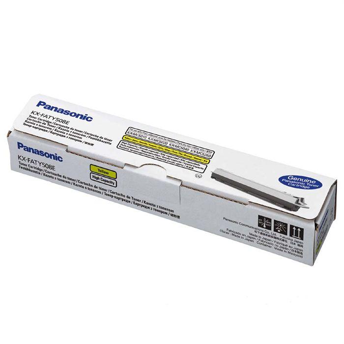 Toner Panasonic KX-FATY508E, Yellow