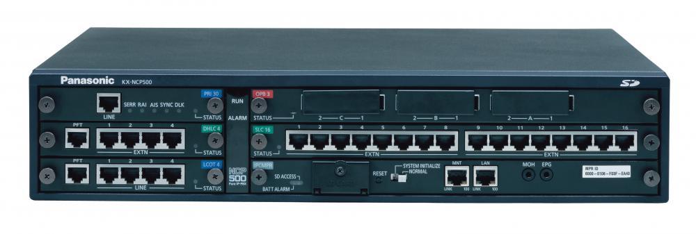 centrala telefonica panasonic kx-ncp500vne, digitala ip