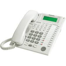 telefon proprietar panasonic kx-t7735ce, analogic, alb