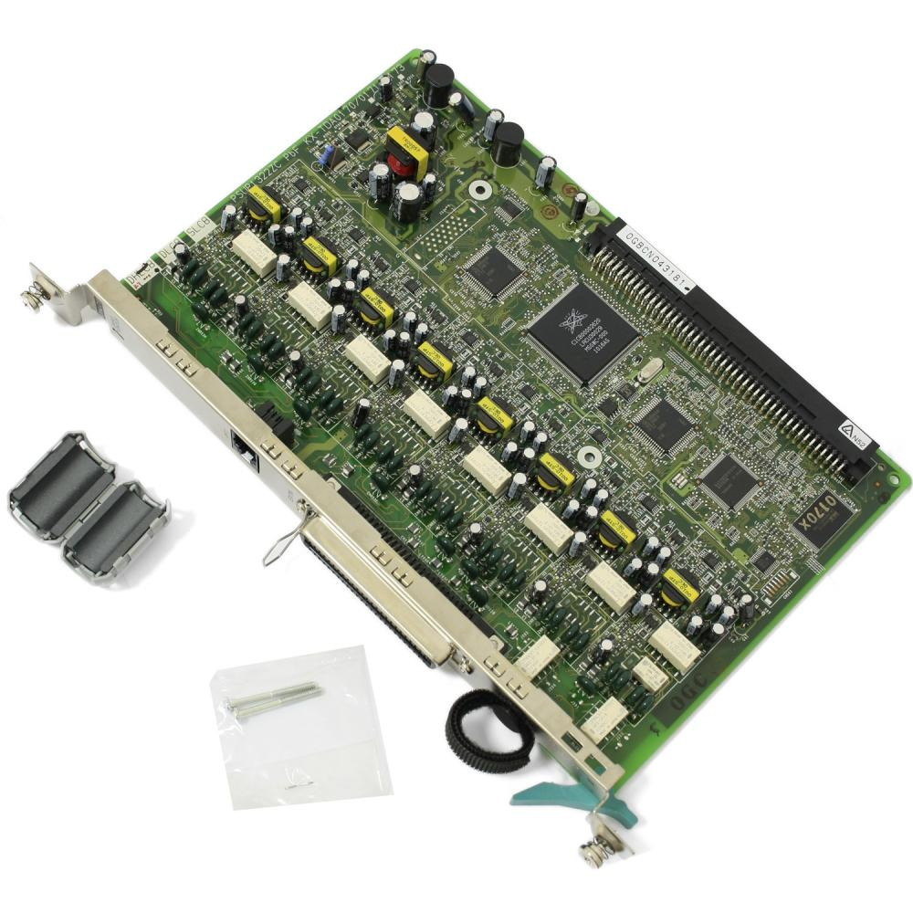 cartela panasonic kx-tda0170x , 8 porturi hibride